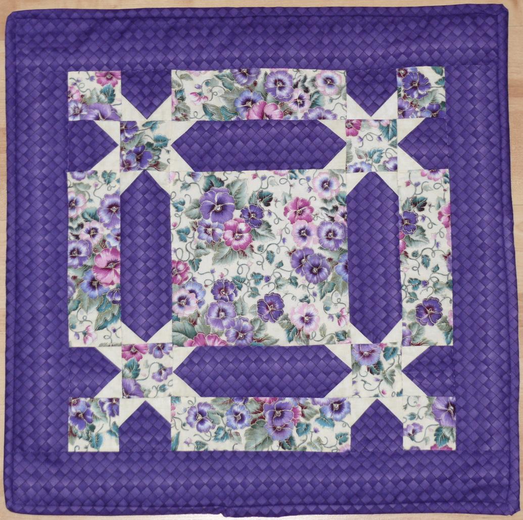 Tischdecke violett
