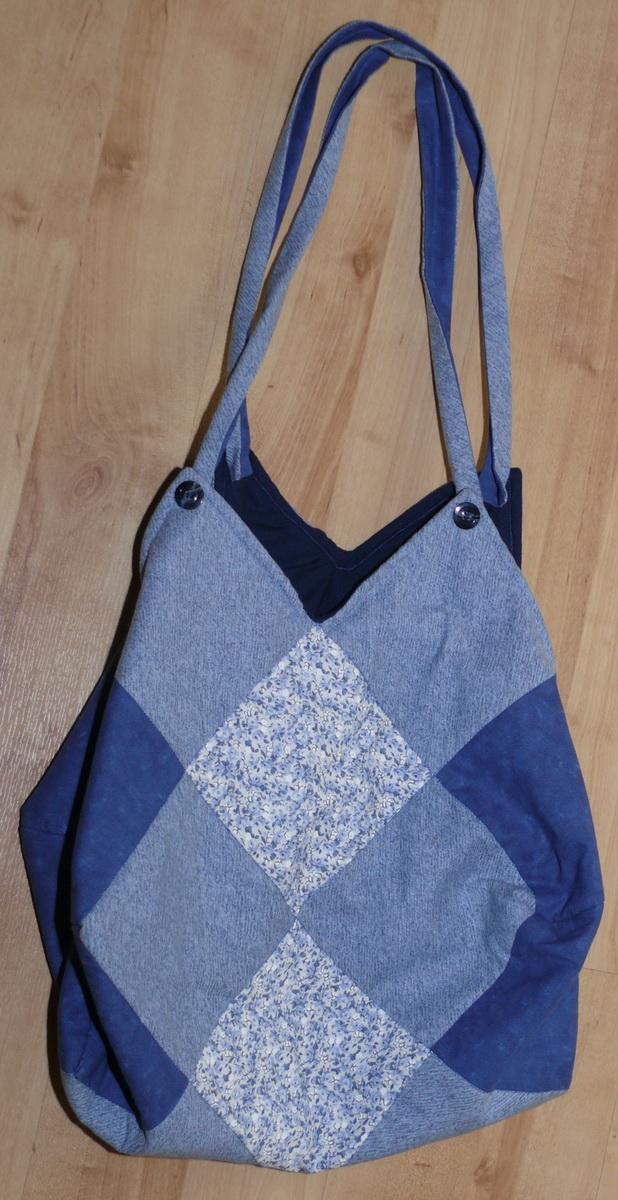 Tasche hellblau