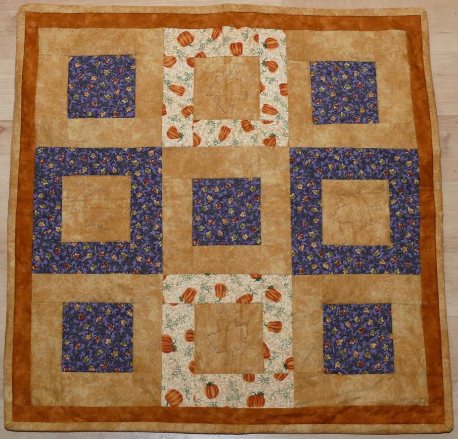 Herbstliche Decke