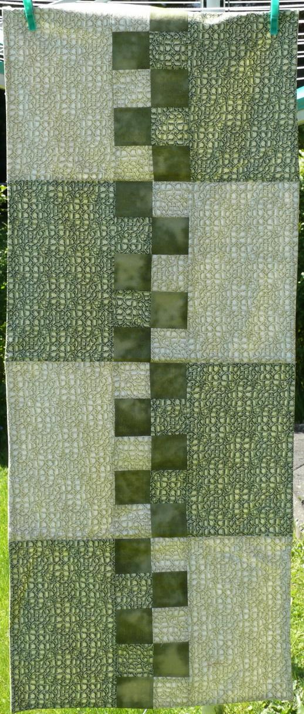 Läufer grün